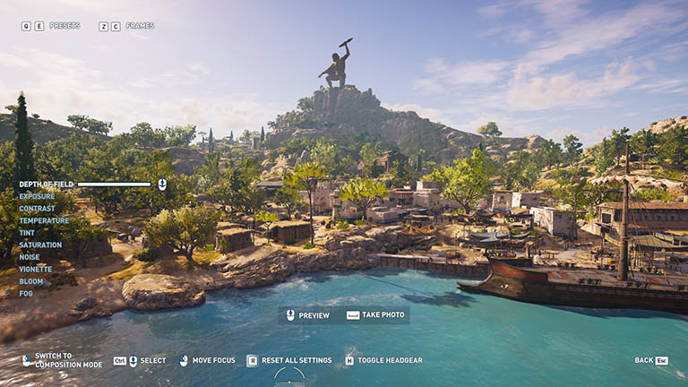 Assassin's Creed Odyssey Photo Mode