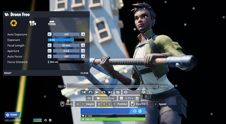 Fortnite Replay Mode
